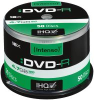 Intenso DVD-R 4,7 GB 50er Spindel 16x